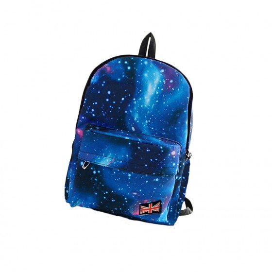 74ab26051482 Fashion Women Girl Canvas Bag Galaxy Print Cosmic Space Backpacks Schoolbag  Travelling Backpack Pink on Aliexpress.com