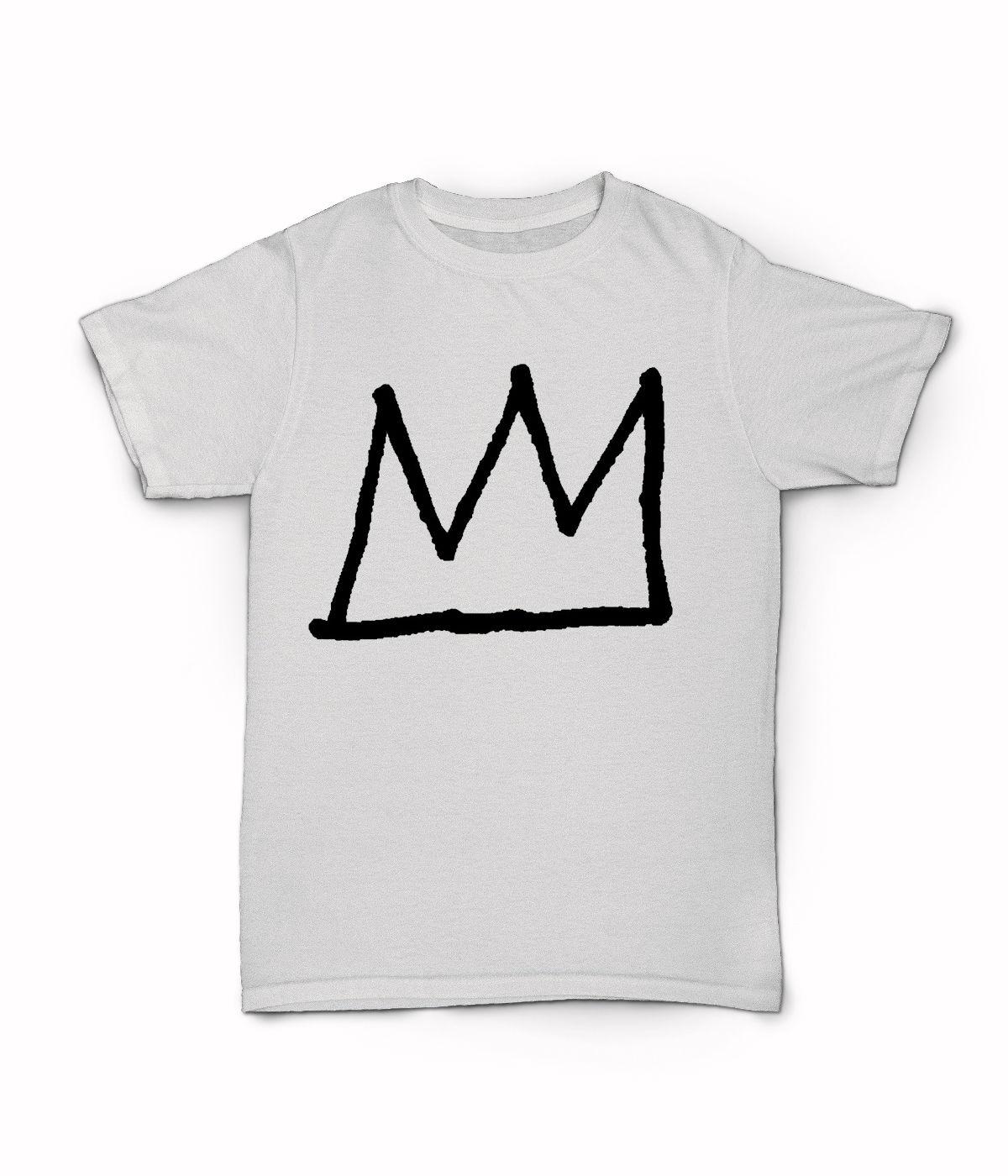 Jean Michel Basquiat crown T Shirt - New York City 80s Art T-Shirt - Legend