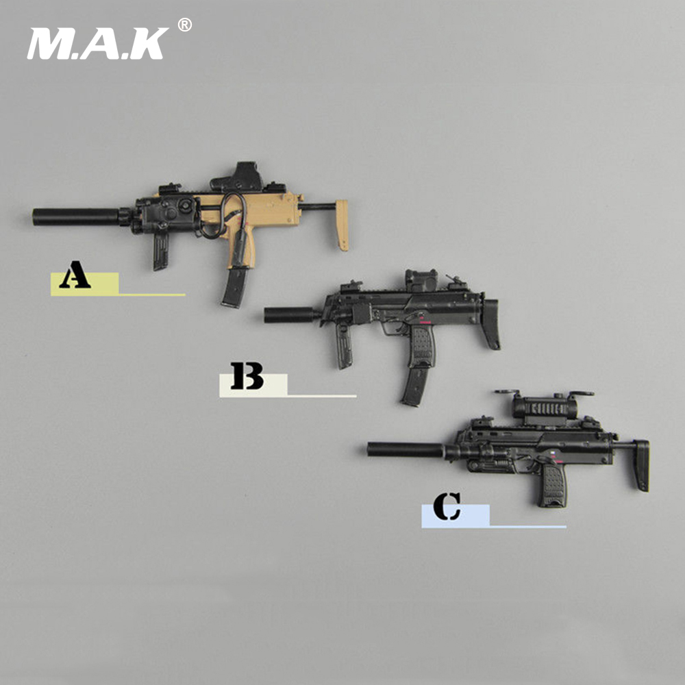 1/6 Scale MP7A1 Gun Weapon Gun Model Toys For 12 Action Figure Accessory Collections wwii german weapon model 1 6 scale karabiner 98k rifle gun bayonet model toys for 12 action figure body accessory gifts colle