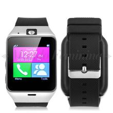 """1,54 """"จอแอลซีดีบลูทูธสมาร์ทนาฬิกาข้อมือซิมกล้องโทรศัพท์MateสำหรับA Ndroid ip hone"""