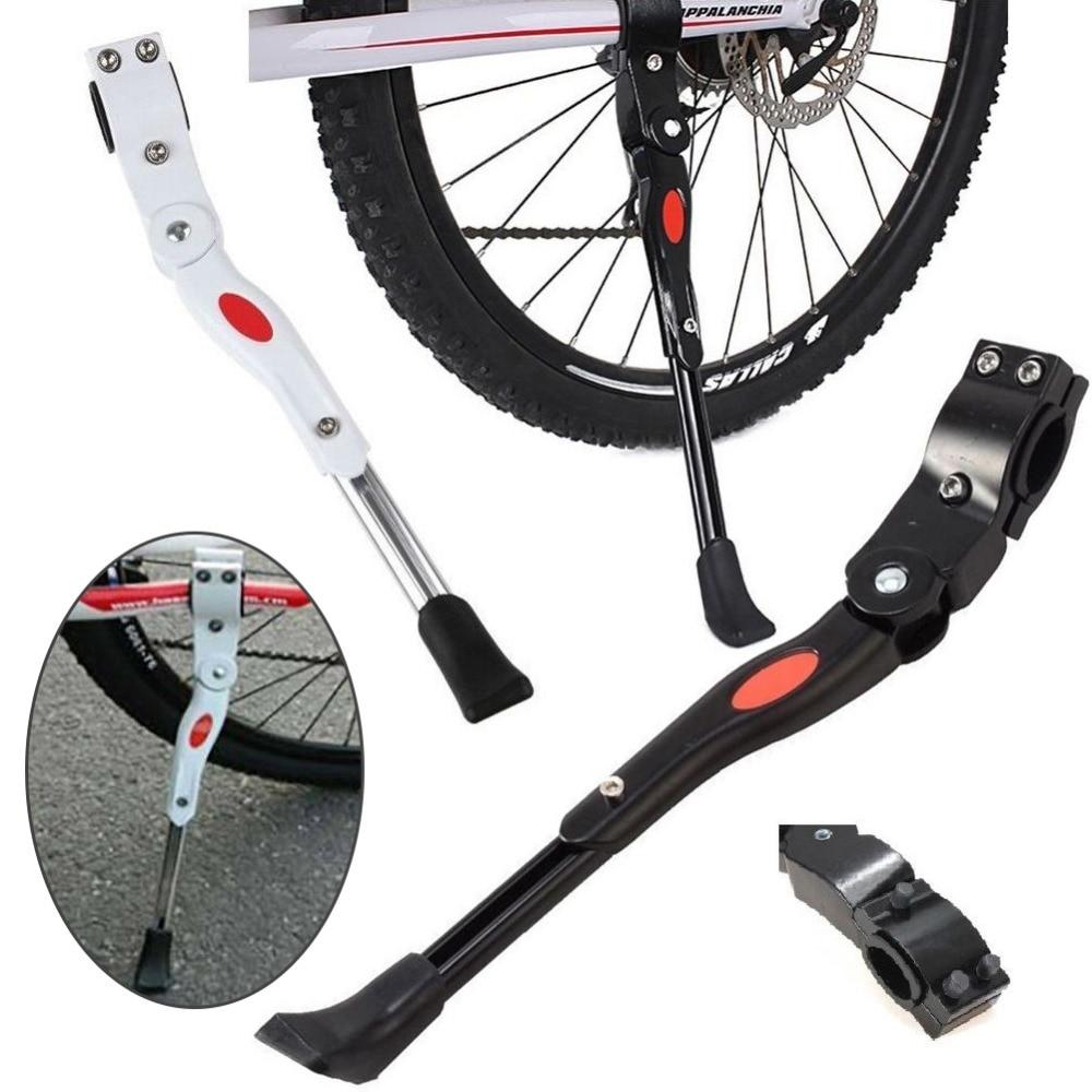 Adjustable Kickstands Mountain Bike Bicycle Prop Side Rear Heavy Duty Kick Stand