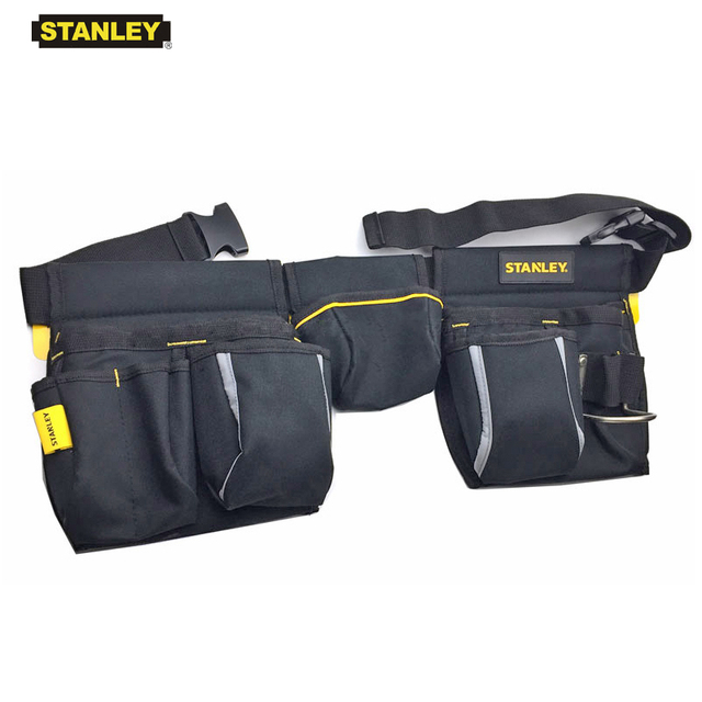 Stanley tool bag waist electrician hip storage carpenters belts and bags contractor construction tool belt pouch pocket combo 1