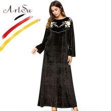 09e1023080 High Quality Black Velvet Dress Embroidery Promotion-Shop for High ...