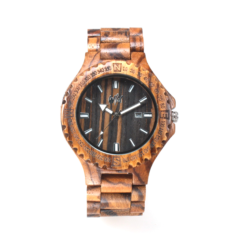 все цены на Zebrawood Watch Men Zebra Wood Watch Japan Miyota Movement Wristwatch Wooden Man Wrist Watch