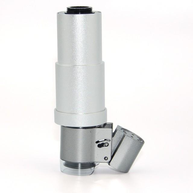 Con Clips de Joyas de Teléfono Móvil Kit de Lentes LED 200x Microscopio ampliación de la lente para iphone 7 6 5 s samsung xiaomi huawei