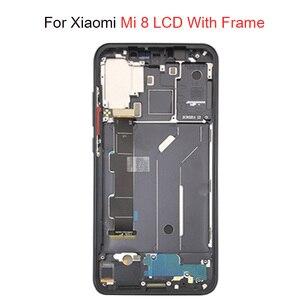 Image 4 - Super Amoled LCD Screen Für Xiaomi Mi 8 LCD MI 8 Explorer Display Digitizer Montage Touch Screen Für Xiaomi Mi8 LCD Mi 8 SE LCD