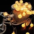 Led Al Aire Libre Luces de la Secuencia 2 M 20 Led Globo de la Bola de Cristal de Hadas Luces de Tira para Fuera de Patio Jardín Fiesta de Navidad