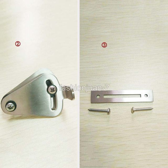 Online Shop High Quality Stainless Steel Lock For Sliding Barn Door