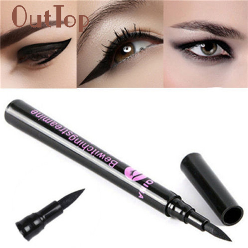 Beauty & Health Beauty Essentials 2019 Fashion Hottest Color Liquid Eye Liner Pen Long Lasting Waterproof Beauty Tool Eyeliner Pencil Makeup Cosmetics Women Dropship