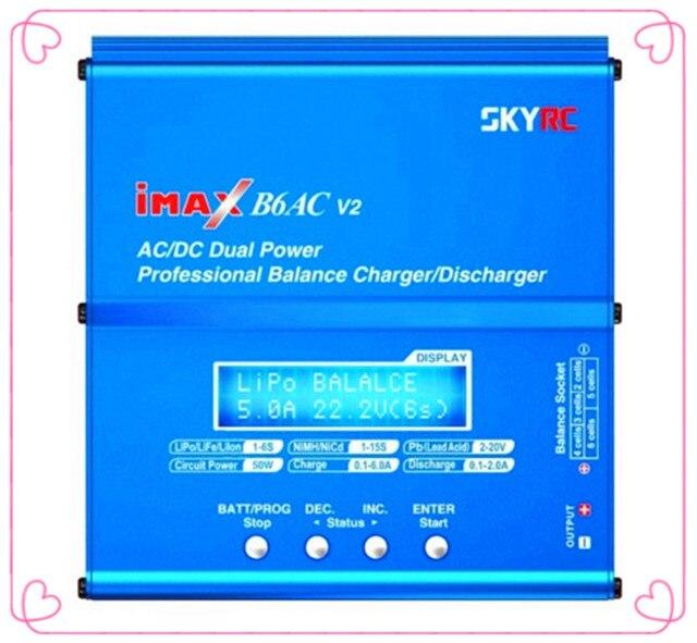 4e599b25a9 Chính hãng SKYRC iMAX B6AC V2 Năng Lượng Kép (6 Amps, 50 Watts ...