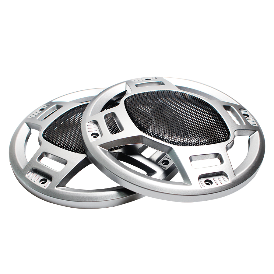 2Pcs 6 INCH 6.5 INCH Car Audio Speaker Conversion Net Cover Decorative Circle Mesh Grille Subwoofer Mesh Enclosure