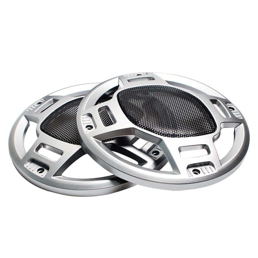 2Pcs 6 INCH 6.5 INCH Car Audio Speaker Conversion Net Cover Decorative Circle Mesh Grille Subwoofer Mesh Enclosure