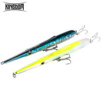 Kingdom Stylo Needle Fishing Lures 205mm 130mm Stickbait pencil Hard Baits Good Action Wobblers skipping garfish sphyraena pesca