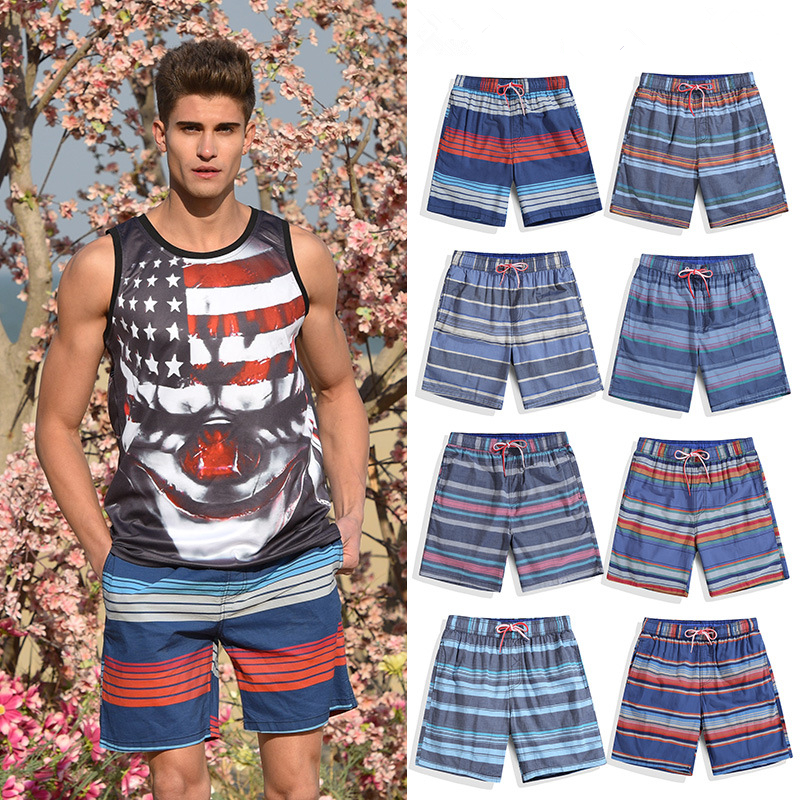 Men Beach Shorts Swimwear Liner Mesh Sweat Swimming Trunks Siwmsuits Sexy Black Plavky Mens Bathing Suits Quick Dry Surf Bermuda
