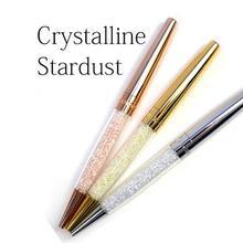 Кристальная ручка шариковая ручка Роскошные элементы шариковая ручка алмазная леди Прекрасные кристаллы свадебный подарок перо кристаллическая ручка stardust