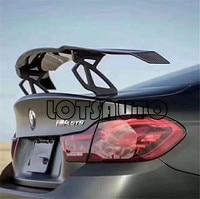 New GTS III Carbon Fiber Trunk Spoiler For 1M M3 E82 E87 E92 E93 F30 F10 V Style Auto Wing Carstyling