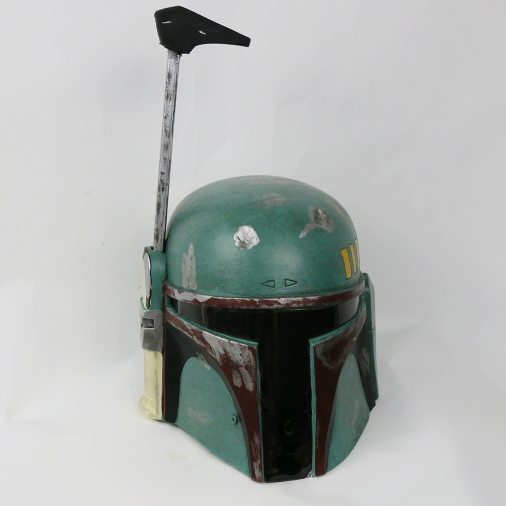 Star wars mask Custom Mad Green Bounty Hunter Boba Fett Helmet Cosplay Props Halloween Helmet