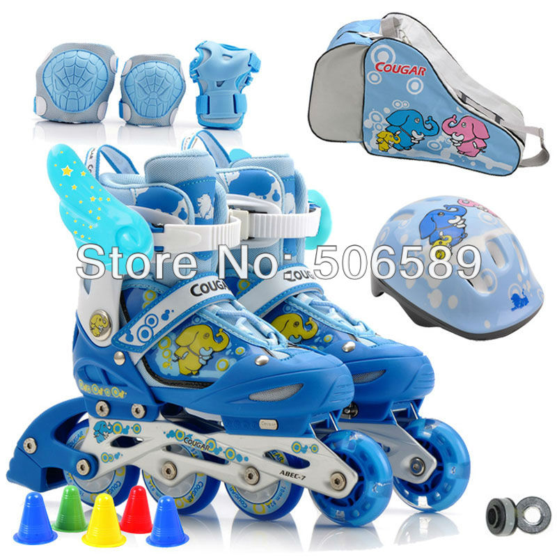 roller skates kid's flashing skating wheel flying wheel MS 737 free shipping