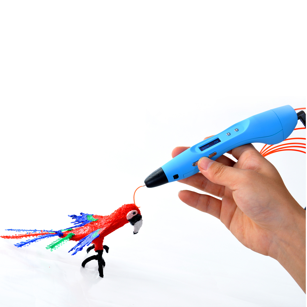 ФОТО 2016 New Kids Gift Toy 3D Printer Pen 3D Drawing Pen
