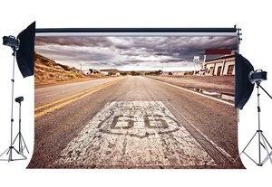 Image 1 - ルート 66 背景アメリカ西部カウボーイ背景素朴な高速道路ホワイトクラウド自然風景の背景