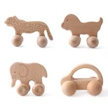 Brain-Game-Toys Wooden Custom-Logo Crafts Kids for Babies Bpa-Free Handmade Gift 1pc