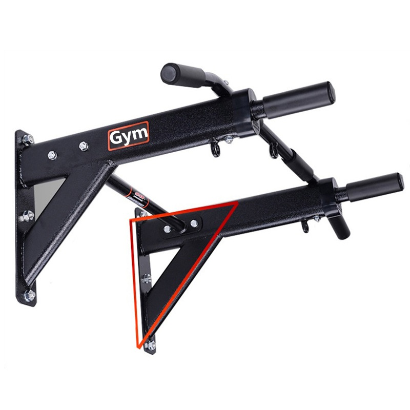 600kg Wall Mounted Pull Up Chin Up Bar Cross Fit Training