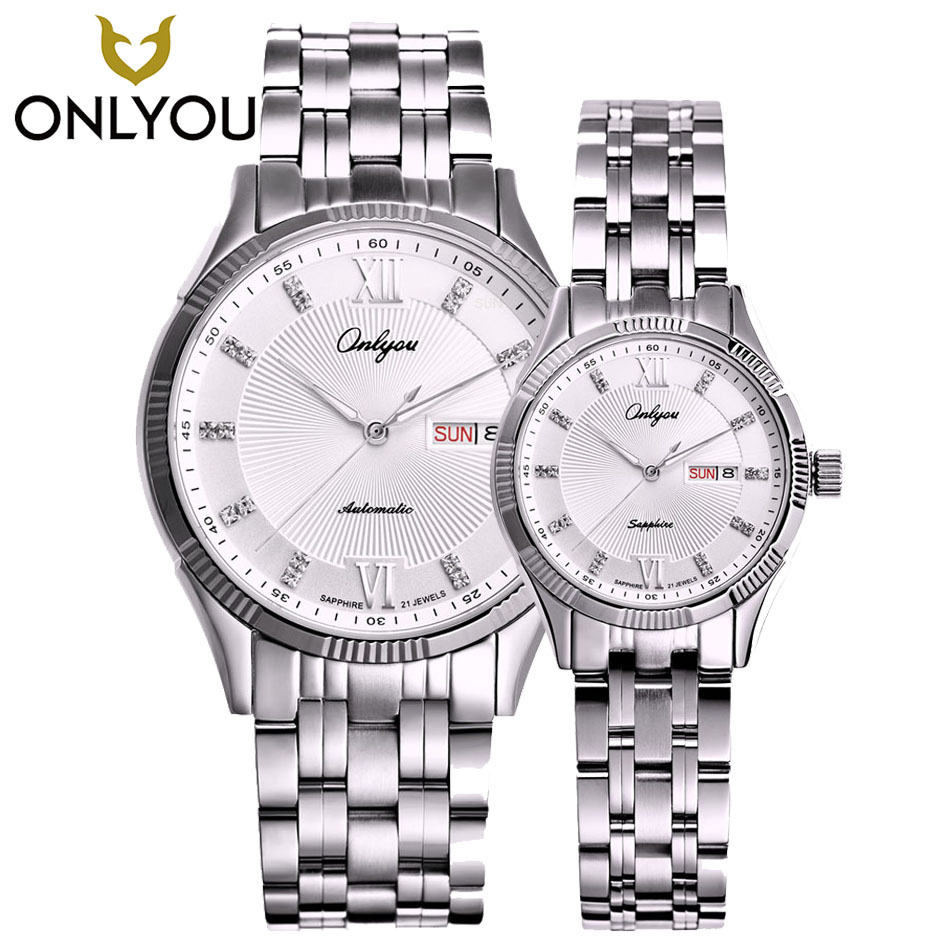 Luxury Automatic Mens Watches Top Brand Luxury Fashion Silver Relojes Hombre Clock Mechanical Watches mens fashion hk brand top grade luxury automatic clocks high quality genuine leather mens hollow watches relojes hombre marca famosa
