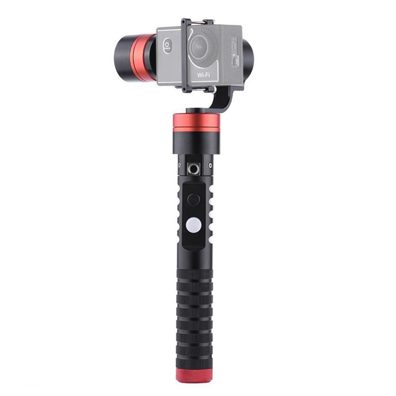 AFI VS-3SG 3-Axis Brushless Handheld Gimbal Camera Gyro Stabilizer for GoPro 4/3+/3 Xiaoyi AEE SJCAM fpv 3 axis cnc metal brushless gimbal with controller for dji phantom camera drone for gopro 3 4 action sport camera only 180g