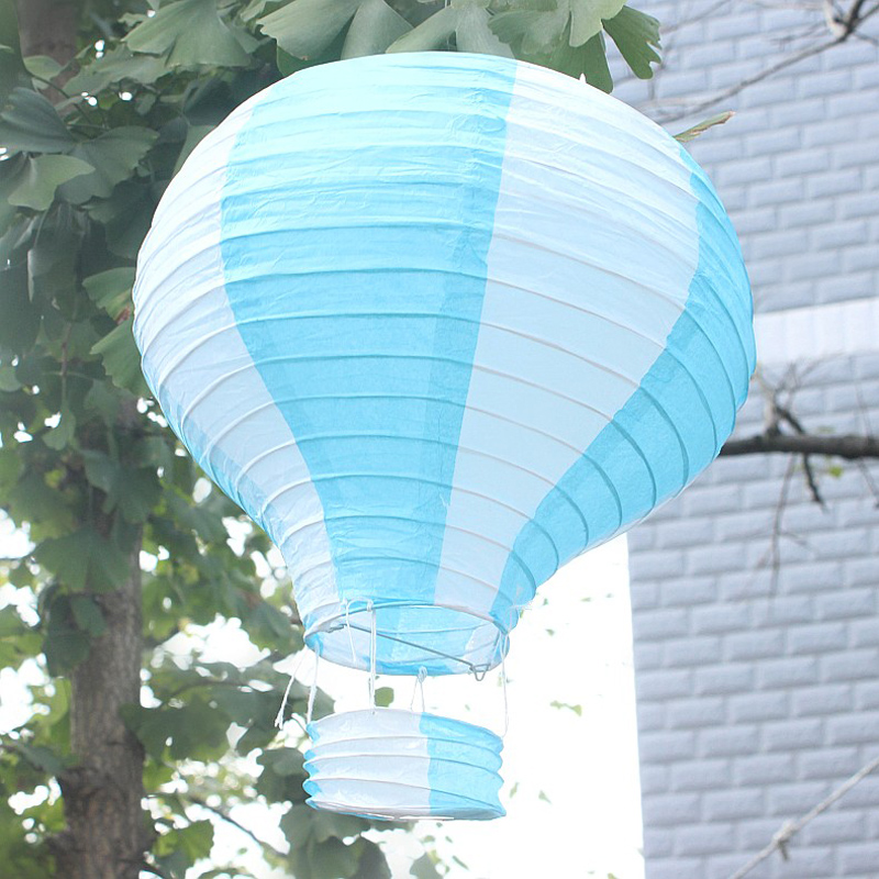 Wholesale Chinese Paper Ball Lantern Hot Air Balloon Paper
