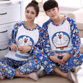 Free shipping Autumn $ winter lovers thickening flannel Pajamas plus size sleepwear men cartoon coral fleece lounge set 24 color