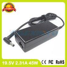 19.5 V 2.31a 45 W cargador portátil adaptador de corriente alterna para HP Specter pro G1 X360 G2 pantalla táctil convertible PC pro X2 612 G1 Tablets PC