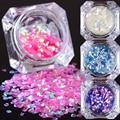 1 caja de 2g de escamas de pescado de uñas lentejuelas sirena born pretty hexagonal glitter manicura de uñas consejos decoraciones del arte
