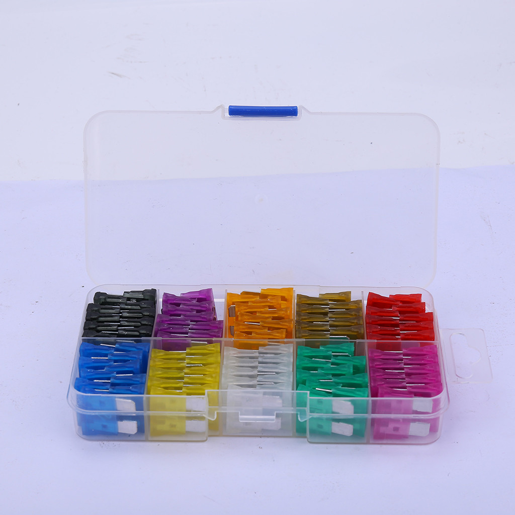 120Pc FAST BLOW GLASS FUSE SET 5//10//15//20//25//30 Amp ELECTRICAL AUTO