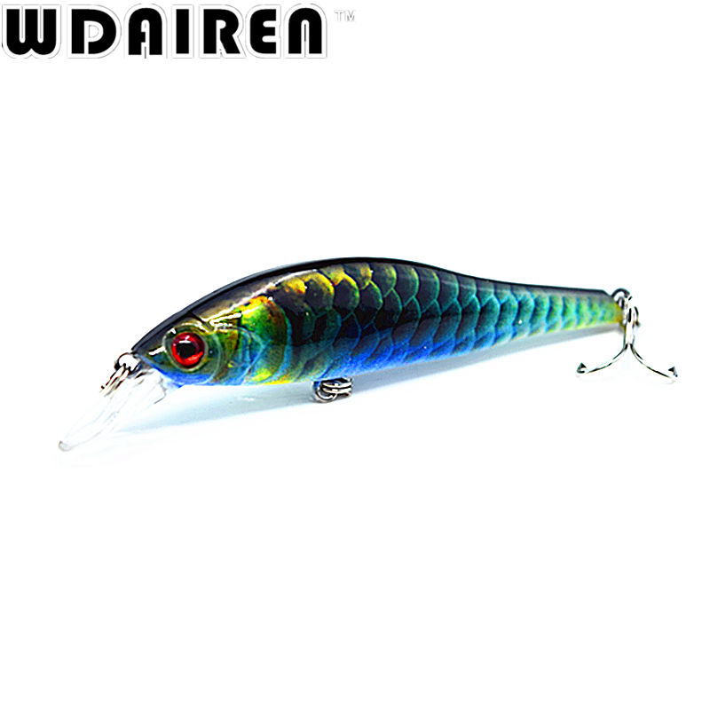 1Pcs 9.5cm 11.5g wobblers Hard Bait Minnow Crank Fishing lures Bass Fresh Salt water 6# VMC hooks Super Quality 6 Colors FA-422 wldslure 1pc 54g minnow sea fishing crankbait bass hard bait tuna lures wobbler trolling lure treble hook