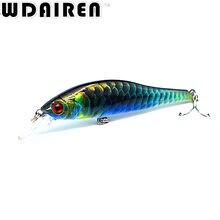 1Pcs 9.5cm 11.5g wobblers Hard Bait Minnow Crank Fishing lures Bass Fresh Salt water 6# VMC hooks Super Quality 6 Colors FA-422