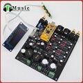 Новый ТОП Аудио ЦАП ES9018 + oled-дисплей ЦАП плата Декодера Поддержка XMOS USB Вход, XLR симметричный Выход