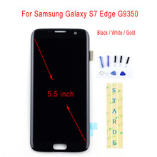 купить STARDE Replacement LCD For Samsung Galaxy S7 Edge G9350 LCD Display Touch Screen Digitizer Assembly 5.5