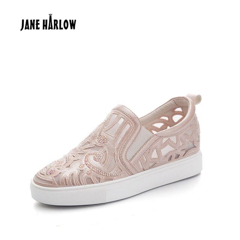 Neue Atmungsaktive Freizeit Frauen Schuhe Japanischen und Koreanischen Stil Mode Weibliche Schuh Diamant Weiß Einfache Dame Niedrigen Ferse Schuhe-in Vulkanisierte Damenschuhe aus Schuhe bei AliExpress - 11.11_Doppel-11Tag der Singles 1