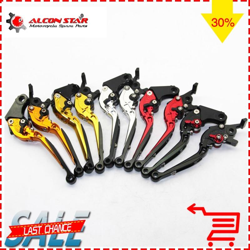 Alconstar-Motorcycle Folding Extendable CNC Moto Adjustable Clutch Brake Levers For Honda CB 190R CB190R CB 190 R 2015-2017 2016 motorcycle cnc folding brake clutch levers