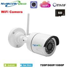 Mini Wifi IP cam 720/960/1080 p HD P2P ONVIF 802.11b/g/n wifi netwerk bedrade IP Camera IR Outdoor Waterdichte Camera IP ABS Plastic