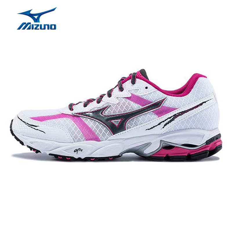 MIZUNO Women WAVE MAVERICK 2 Light Weight Cushioning Breathable Jogging Running Shoes Sneakers Sport Shoes J1GR159703 XYP299  цена
