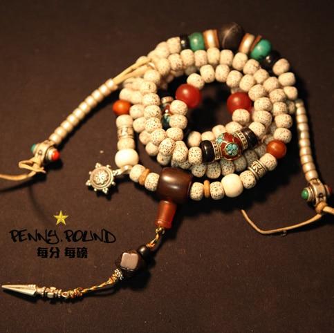 Designer Mala tibetan seeds mala buddhist prayer 108 Beads AAA grade seeds 108 Rosary Beads blessed