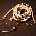 Дизайнер мала тибетский бодхи мала буддийский молитва 108 подлинная бодхи 108 бусины благословил мала