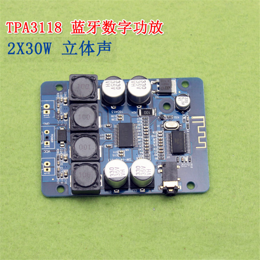 Useful Full-tpa3118 2x30w 8-26v Dc Stereo Audio Bluetooth Digital Power Amplifier Board For Diy Toys Model Amplificador Amplifiers Accessories & Parts Audio & Video Replacement Parts
