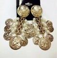 EH382 DG brand perle Gypsy kpop New 2014 jewelry pendientes brincos boucles d'oreilles bijoux bijouterie stud earrings for women