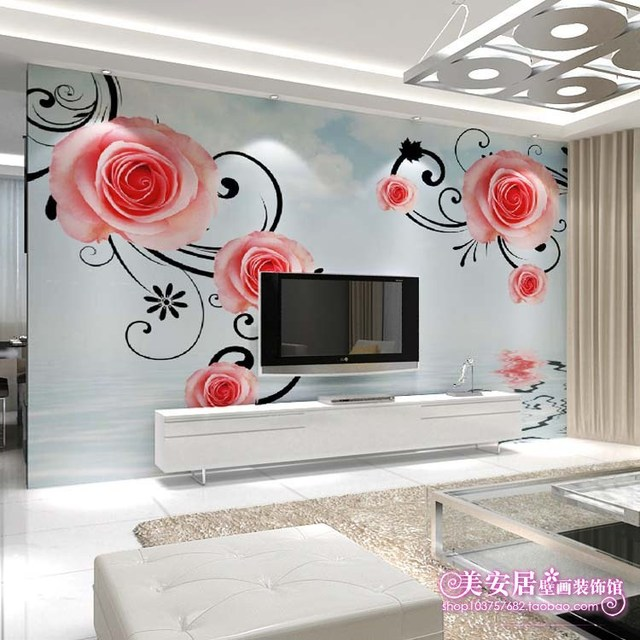 simple personnalis grande fresque salon canap chambre tv. Black Bedroom Furniture Sets. Home Design Ideas