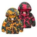 Moda camisola ocasional primavera chegada nova roupa dos miúdos bape camuflagem hoodie para meninos zipper esporte casacos outwear out24 thirt