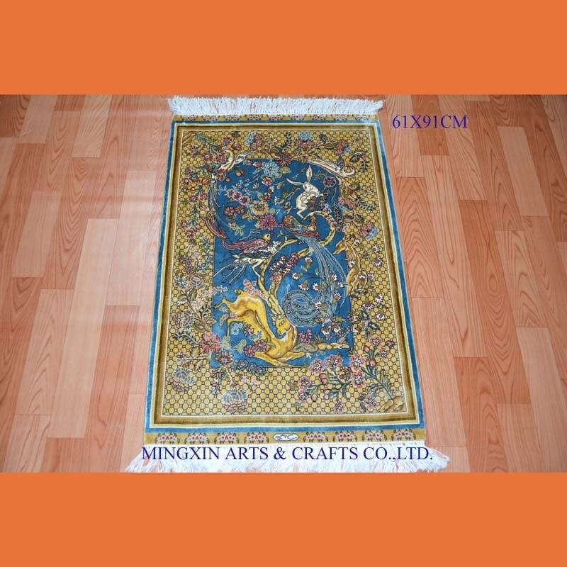 61x91cm 2x3ft 100 Chinese Original Handknotted Silk