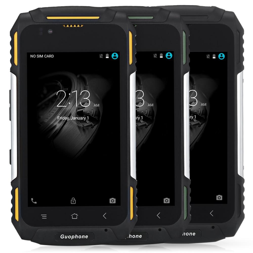Guophone V88 IP58 Waterproof Android Mobile Phone MTK6580 Quad Core 1GB+8GB Dustpoof Shockproof 4.0'' IPS 3G Smartphone 4500mAh
