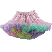 Europe and United states New Fashion Family Matching Outfits Halloween Princess Skirt Women Skirts Tutu Girl Net Skirt